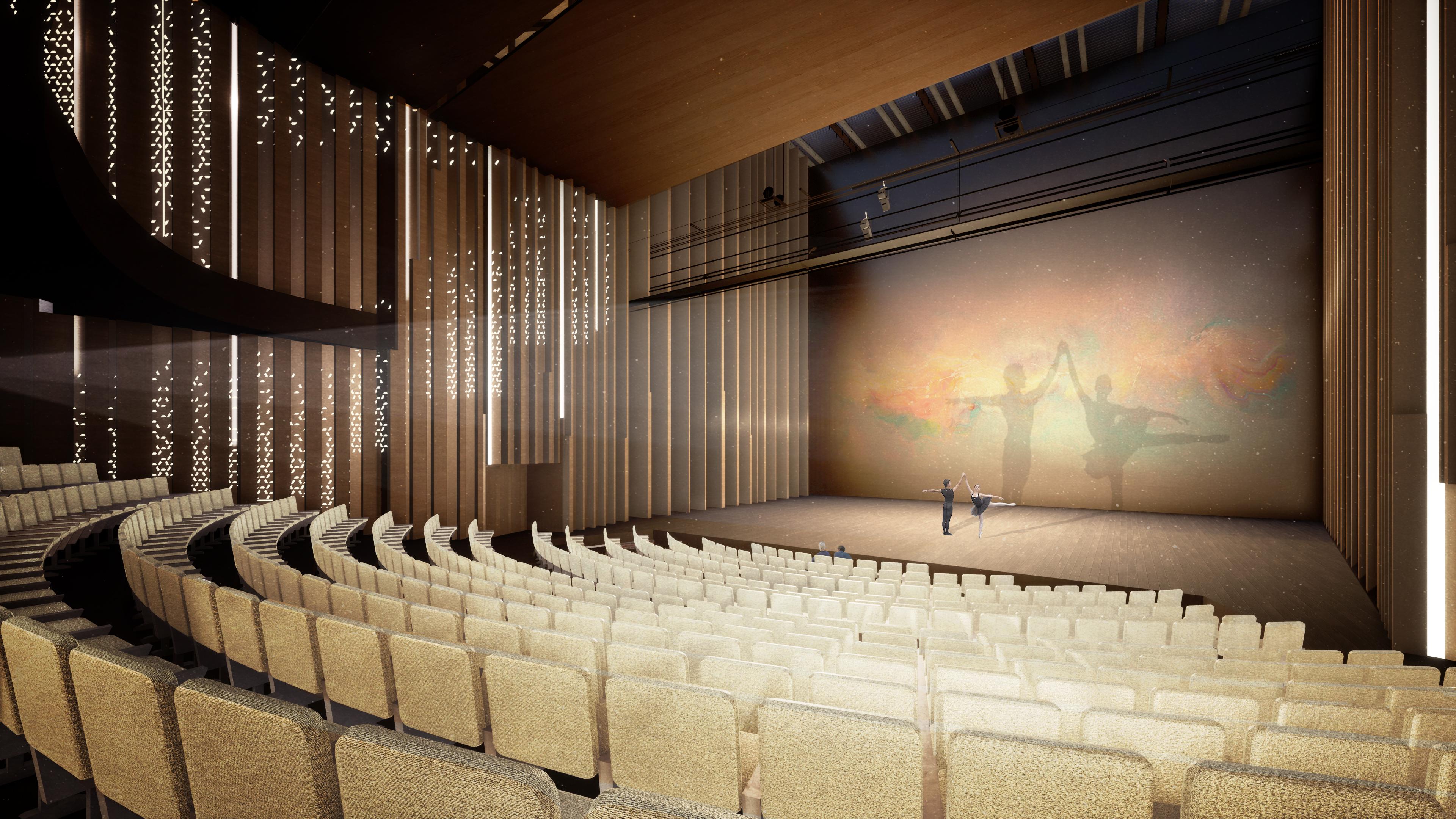 <p>Grote Zaal. Theater aan de Parade door NOAHH   Network Oriented Architecture</p>