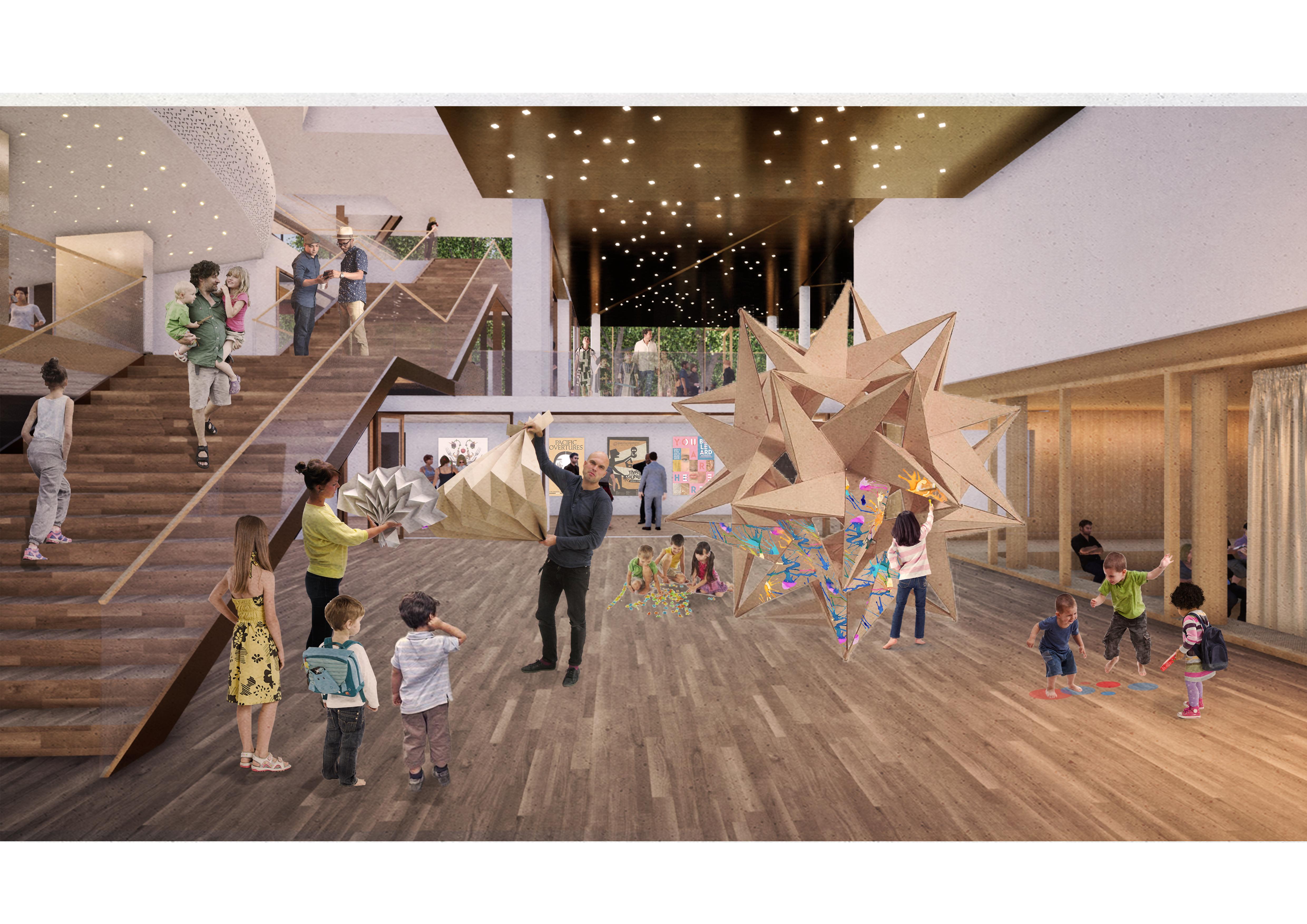 <p>Interieur kelder. Theater aan de Parade door NOAHH | Network Oriented Architecture</p>