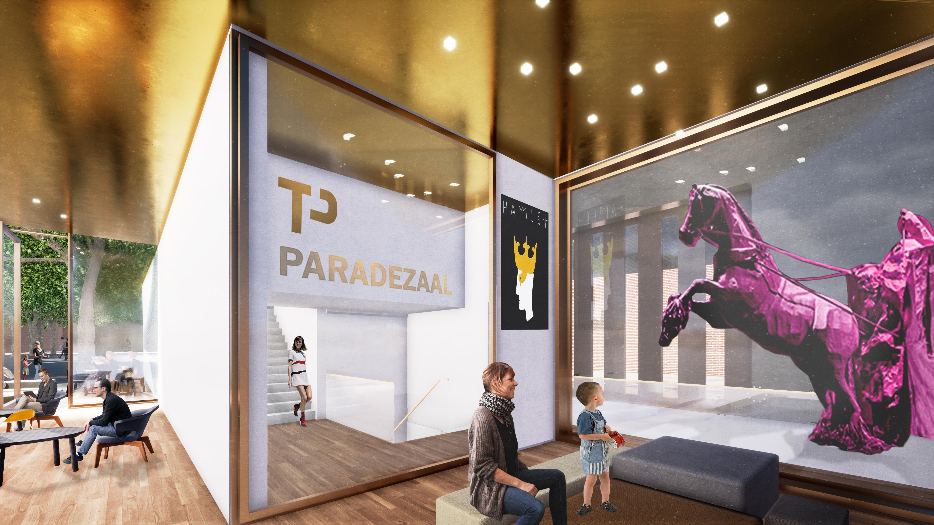 <p>Interieur theatercafe lounge. Theater aan de Parade door NOAHH | Network Oriented Architecture</p>