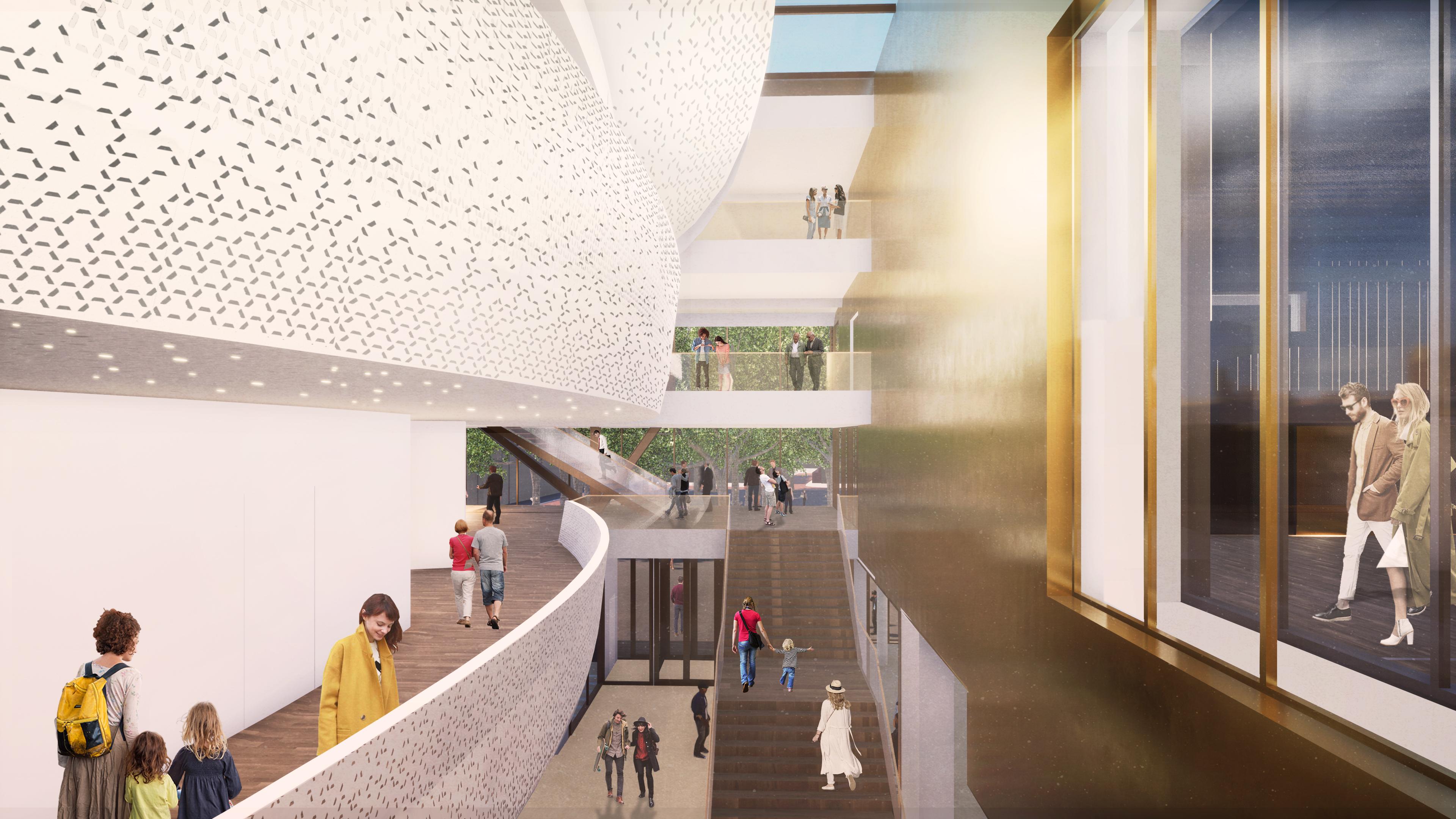 <p>Interieur vide. Theater aan de Parade door NOAHH | Network Oriented Architecture</p>