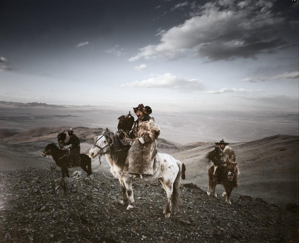 Beeld Kazahh, Mongolie. Beeld Jimmy Nelson
