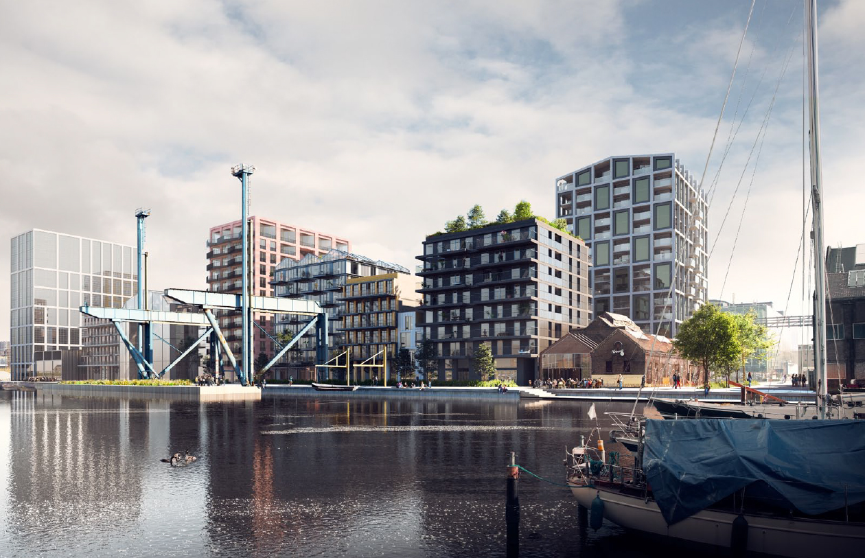 <p>VOC kade Oostenburg (VORM/3D studio Prins)</p>