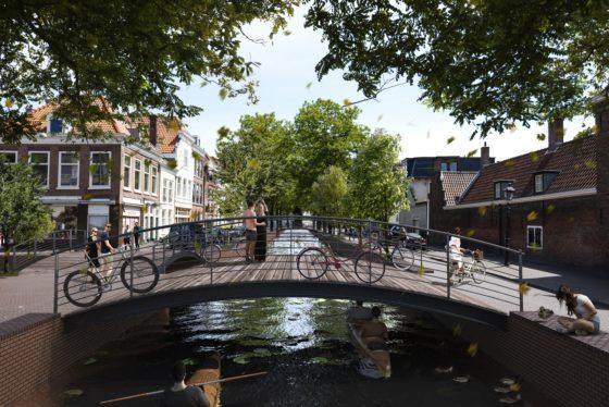 Visie op herstel Haagse grachtengordel – een gezamenlijk initiatief van bewoners en MVRDV