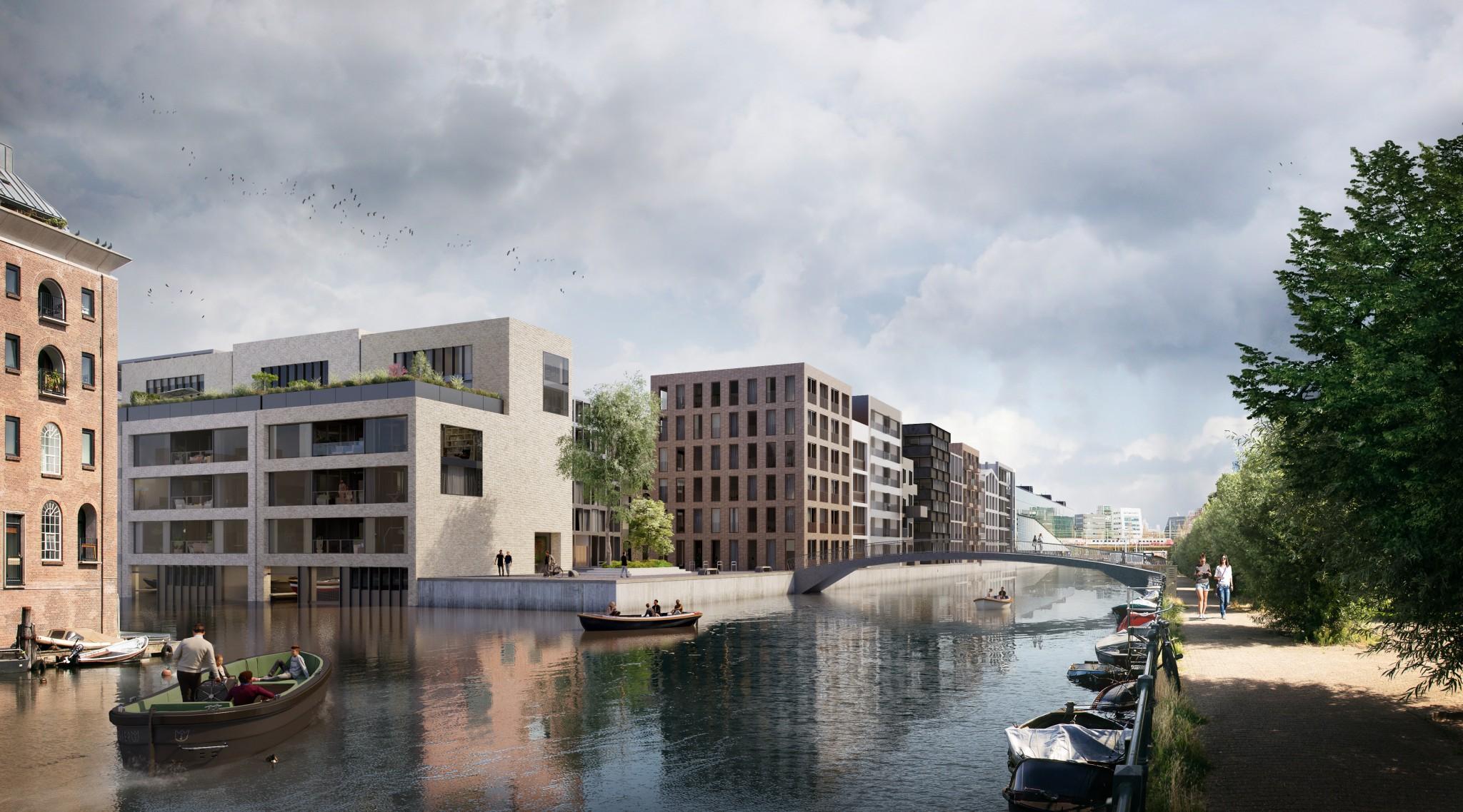 <p>plekje aan het water voor bewoners ( Paul de Ruiter/Bastiaan Jongerius/Ronald Jansen)</p>