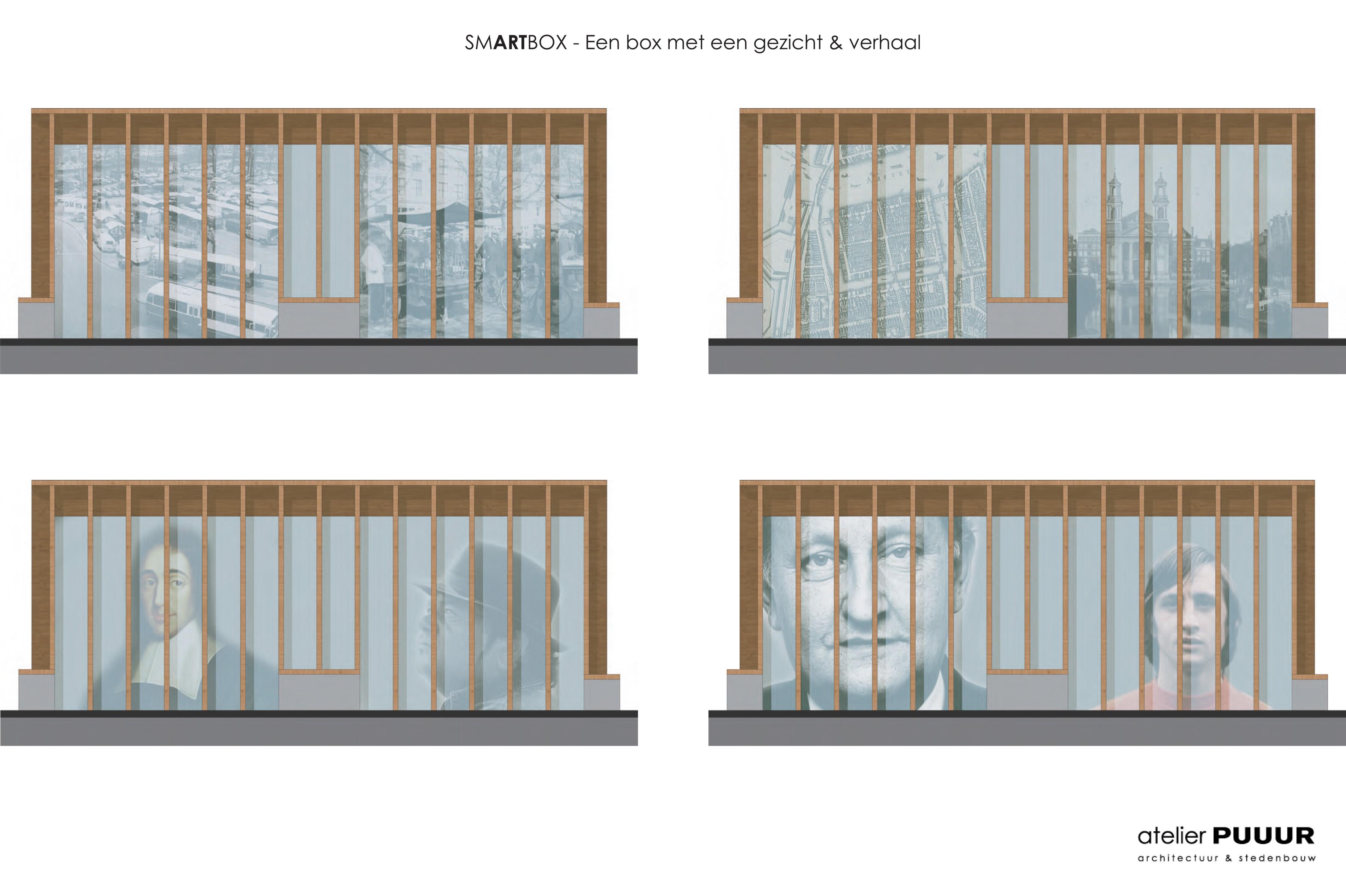 <p>SmARTbox Waterlooplein Amsterdam door Atelier PUUUR</p>