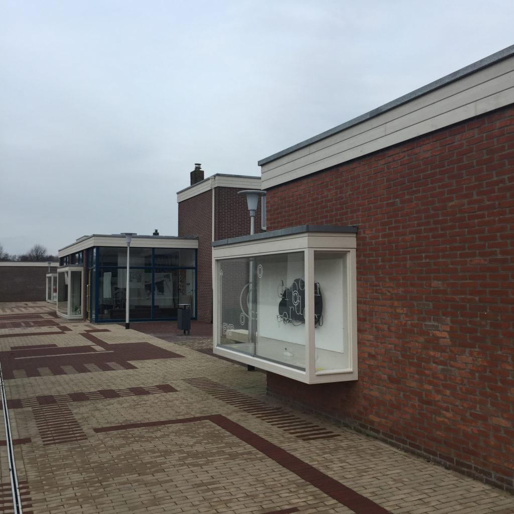 Winkelwoning in Nagele na restauratie (2018). Beeld Robbert Guis
