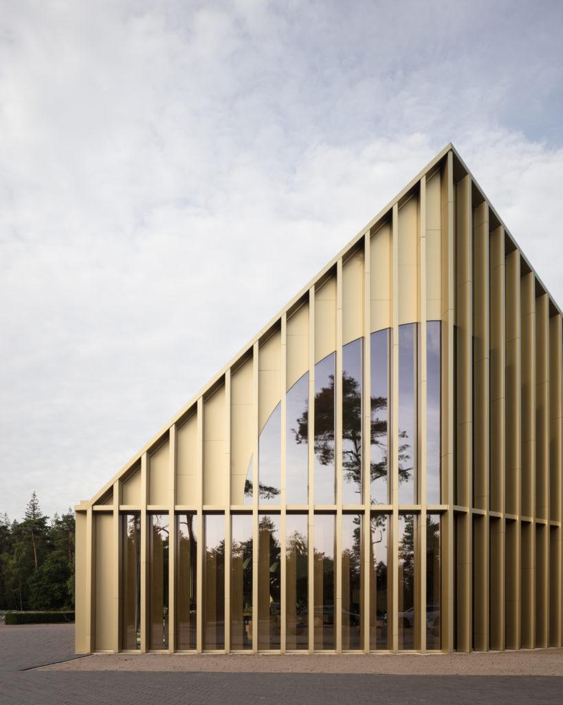 Park Paviljoen de Hoge Veluxe door De Zwarte Hond en Monadnock