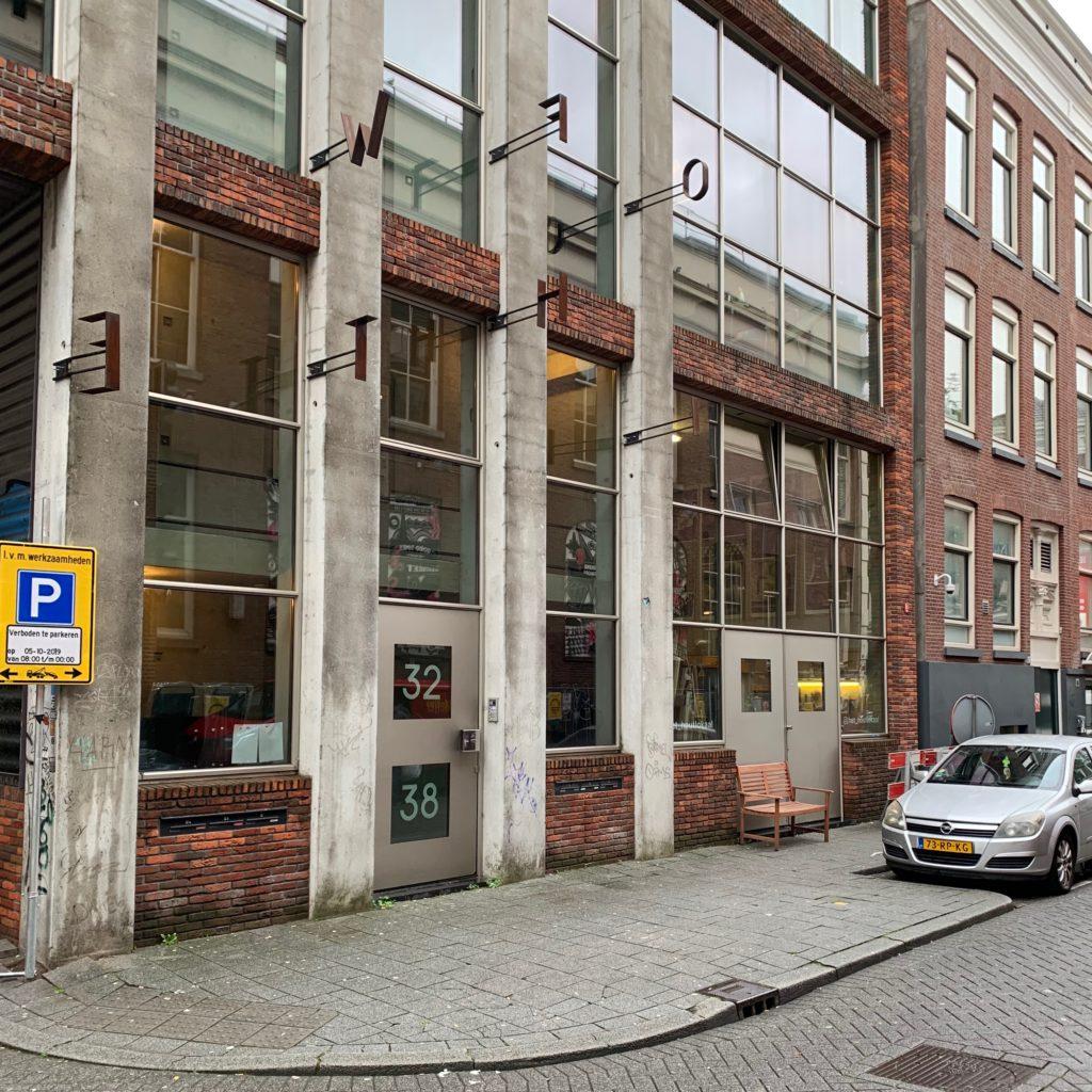 Woonwerkgebouw door Kühne en Co aan de Boomgaardsstraat Rotterdam. Beeld Robbert Guis