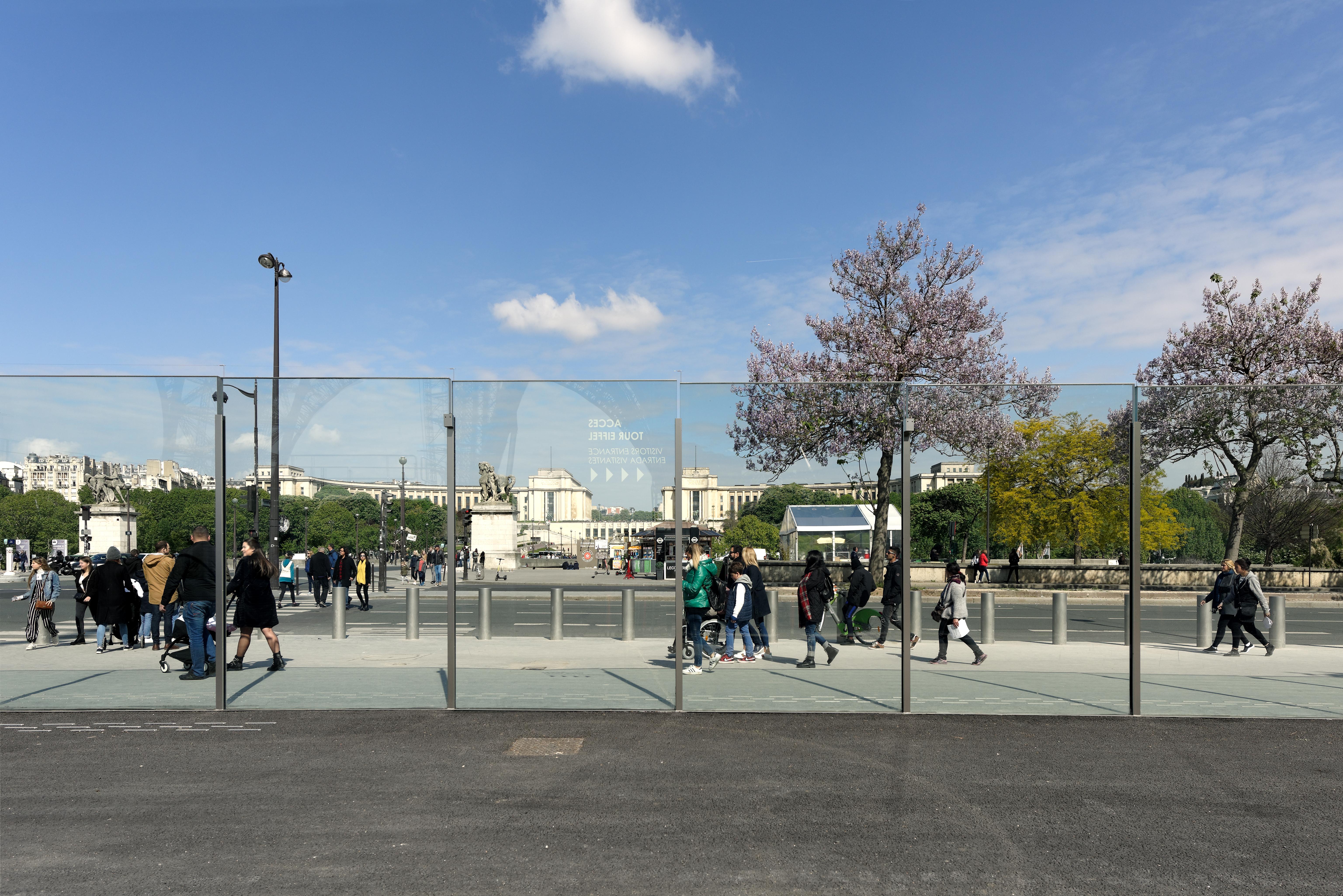 <p>Zicht richting Trocadero. Beeld David Boureau</p>
