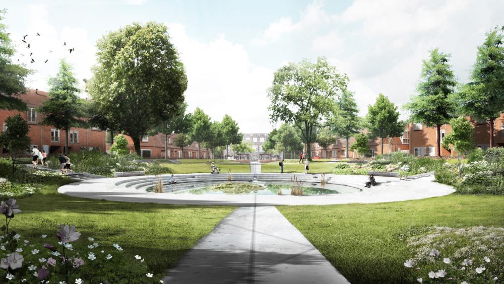 SELECT Circulaire stedelijke ruimte: Treebeekplein in Brunssum door Ziegler Branderhorst