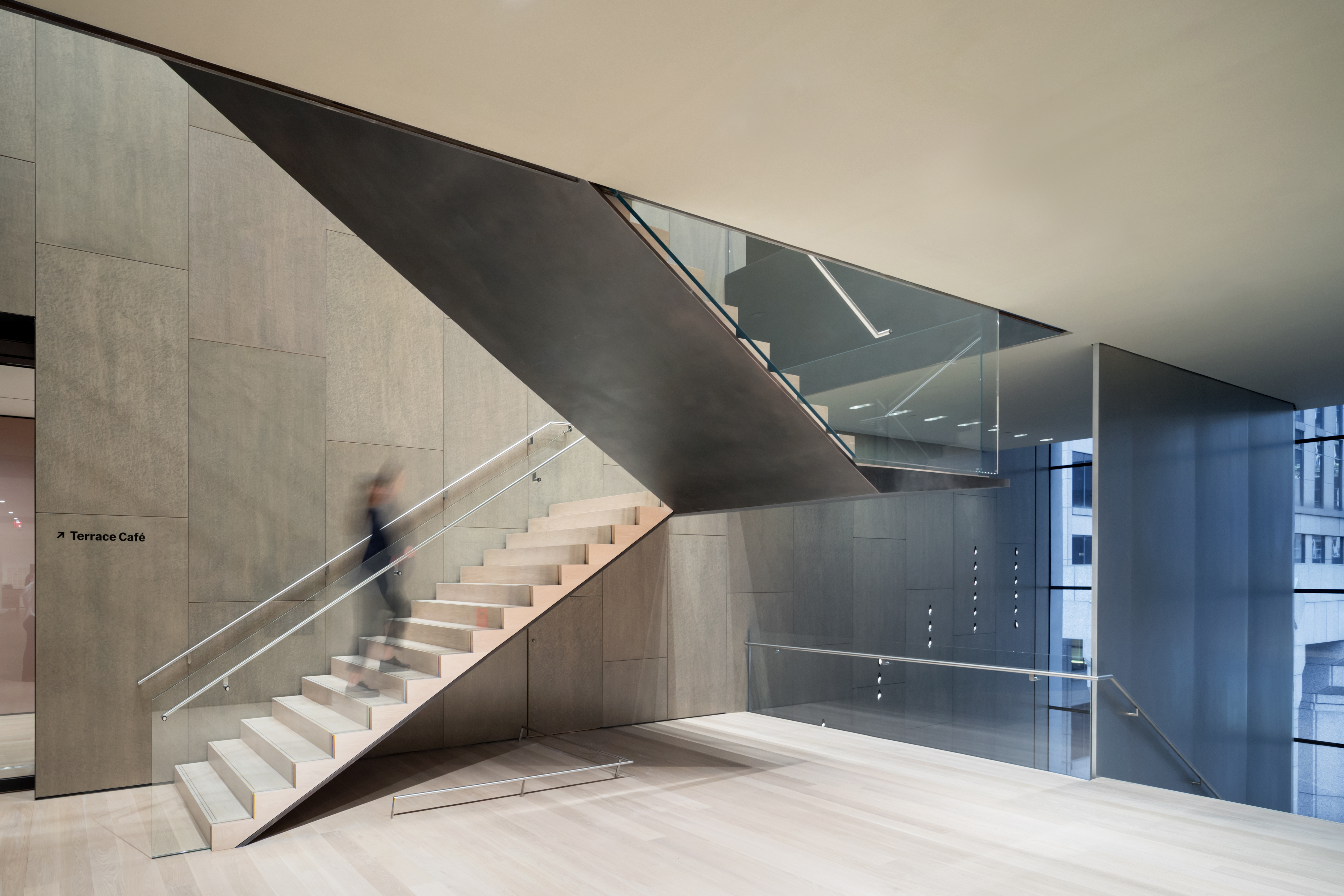 <p>MoMa Fase 2. Interior view of The Museum of Modern Art, Fifth Floor Stair Beeld Iwan Baan. Courtesey of MoMa</p>