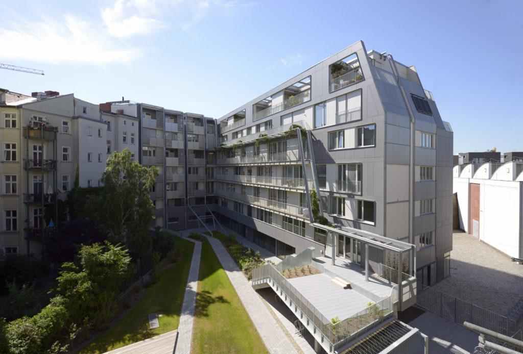 Metropolenhaus Berlijn door BFStudio-Architekten Beeld Rainer Gollmer