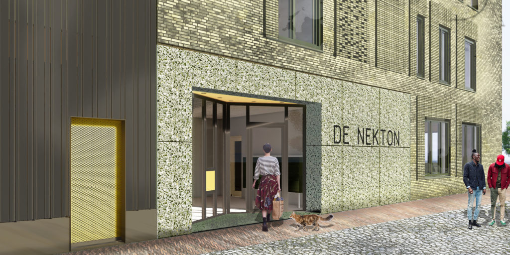 Oostenburgereiland in Amsterdam door Studio architectuurMAKEN. Beeld Studio architectuurMAKEN