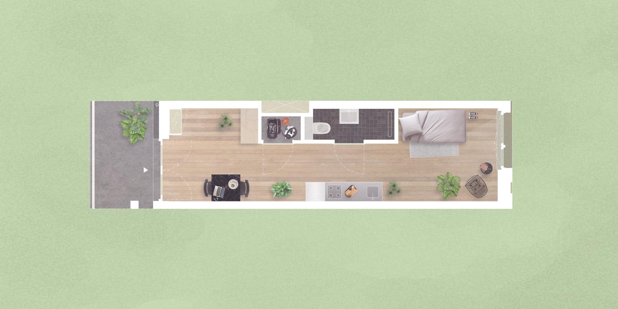 <p>Oostenburgereiland in Amsterdam door Studio architectuurMAKEN. Beeld Studio architectuurMAKEN</p>