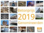Nominaties Betonprijs 2019 bekend
