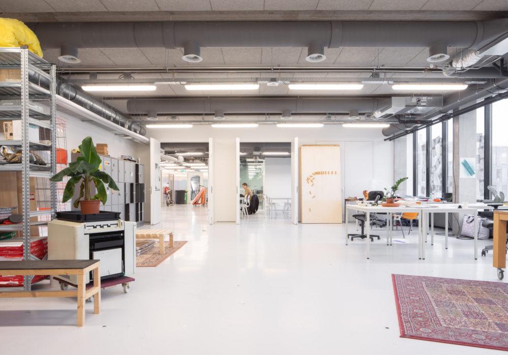 Interieur Sandberg Instituut Amsterdam – Studio Anne Dessing