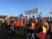 Bouwprotest in Den Haag tegen stikstof- en PFAS-beleid