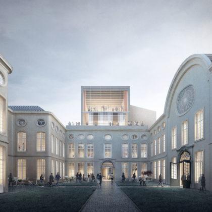 'TRANS, Carmody Groarke en RE-ST' ontwerpt nieuwe vleugel Design Museum Gent