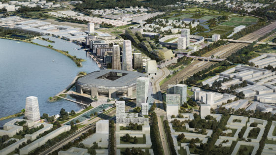 Alternatief voor Feyenoord City zonder nieuw stadion