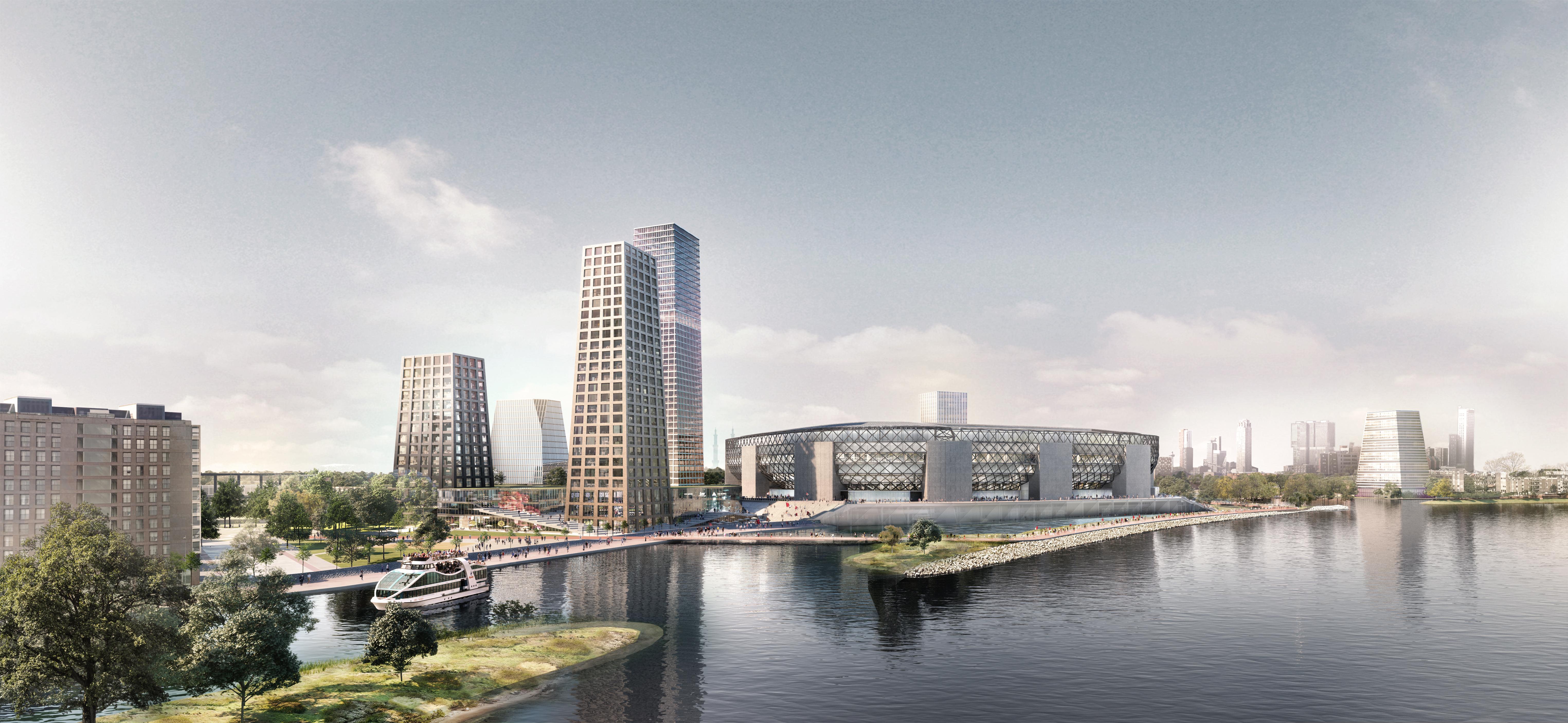 Lees ook: 3500 woningen, veelal in woontorens, extra stimulans voor Feyenoord City