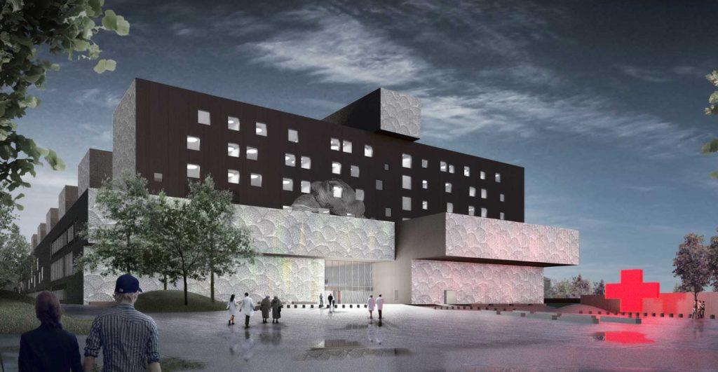 KSSHP Ziekenhuis in Jyväskylä Beeld EGM architecten