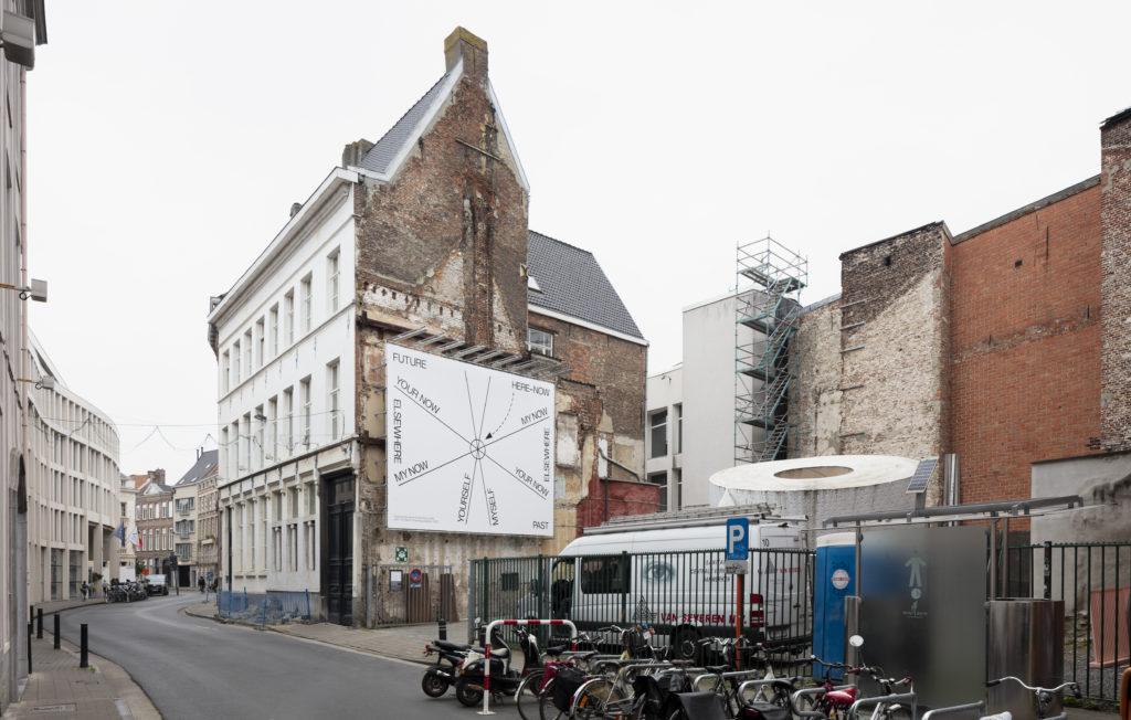DING Gent Het braakliggend stuk grond in de Drabstraat waar de nieuwe vleugel komt. Beeld ©Michiel De Cleene i.o.v. Vlaams Bouwmeester