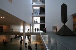 Museum voor moderne kunst in New York is weer open