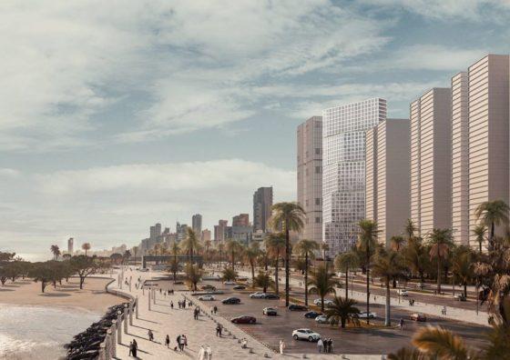 OMA ontwerpt Wafra-toren in Koeweit