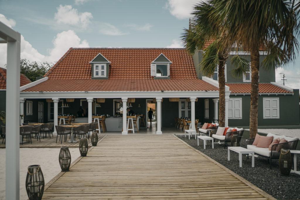 restaurant 020 op Curacao door Concrete. beeld Chantal Arnts