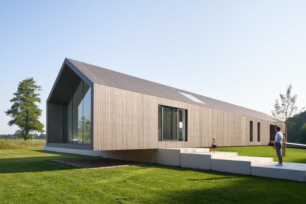 Schuurwoning 'Het Kleine Krikhaar' in Geesteren - Reitsema & partners architecten Beeld Ronald Tilleman