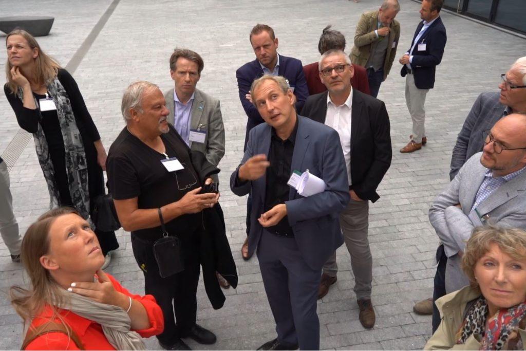 Projectbezoek Stadskantoor Hasselt. Beeld Vincent van den Broek