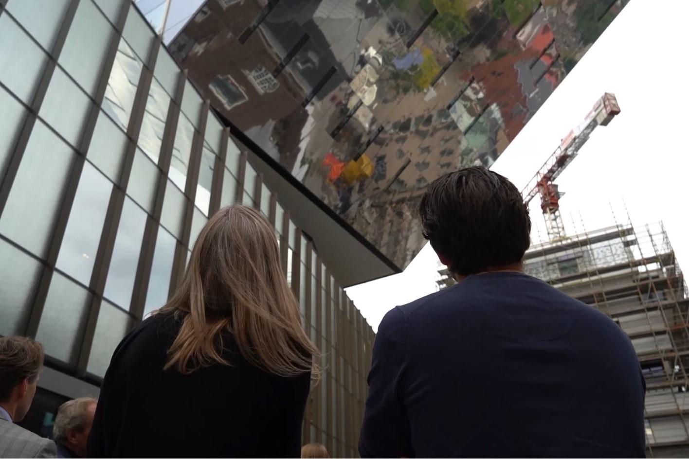 <p>Projectbezoek Stadskantoor Hasselt. Beeld Vincent van den Broek</p>