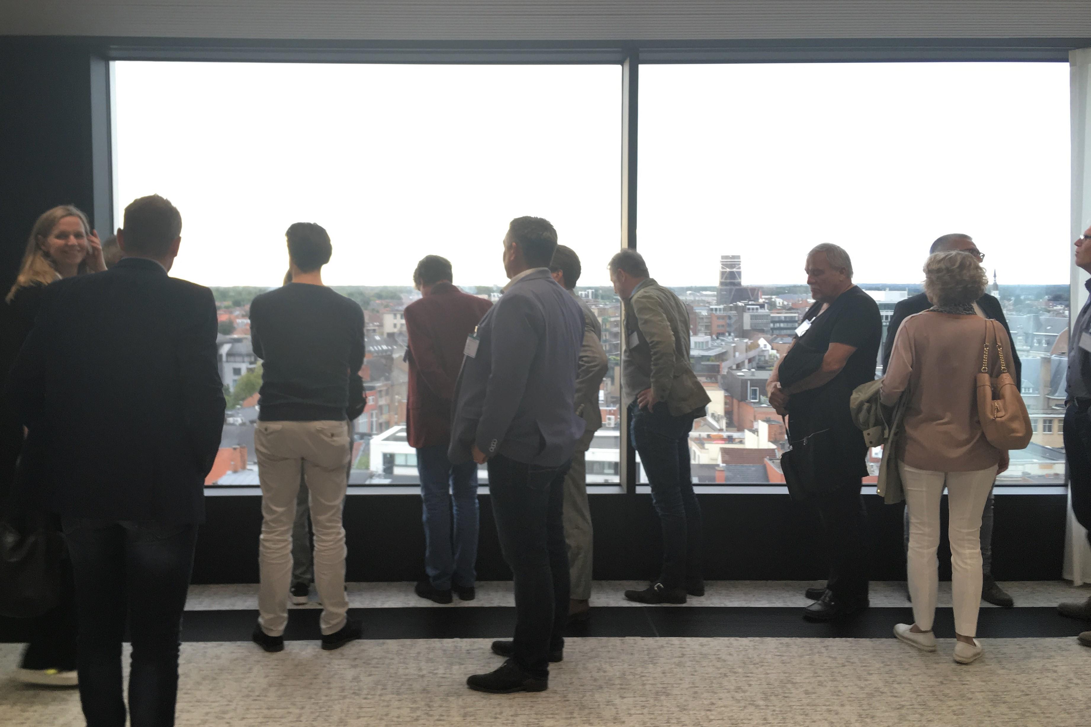 <p>Projectbezoek Stadskantoor Hasselt. Beeld Marieke Giele</p>
