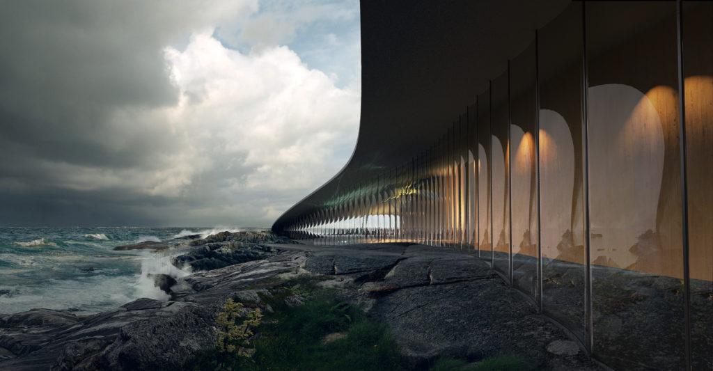 The Whale door Dorte Mandrup Beeld MIR (www.mir.no)