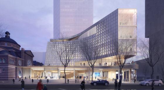 In beeld: ontwerp hoofdbibliotheek Charlotte Mecklenburg, VS door Snøhetta en Clark Nexsen