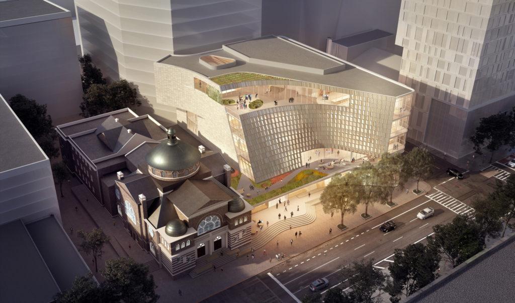 Nieuwe hoofdbibliotheek Charlotte Mecklenburg, VS door Snøhetta en Clark Nexsen