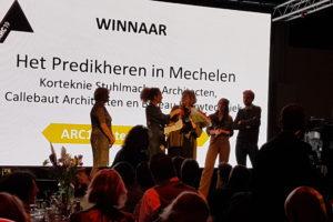 ARC19 Interieur Award naar Het Predikheren door Korteknie Stuhlmacher ism Callebaut en Bureau Bouwtechniek