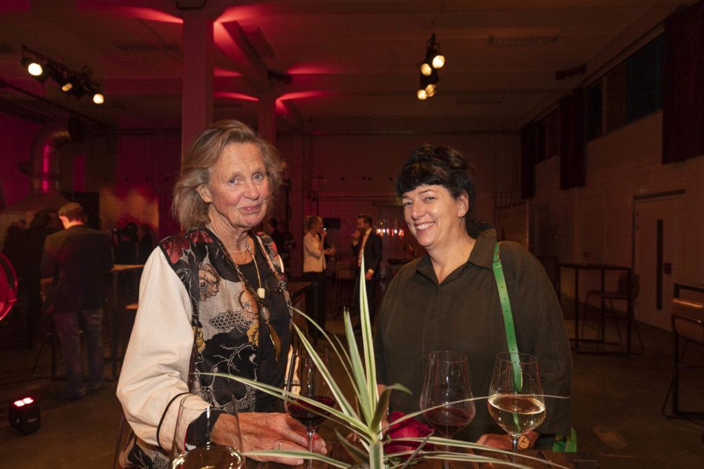Eveline Merkx en Christine Budimir Feest ARC19