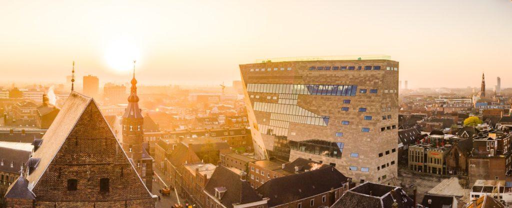 Forum Groningen door NL Architects Beeld Deon Prins