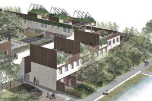 Blog – Gemeenschappelijk wonen: Voorontwerp hof, groepen en woningen