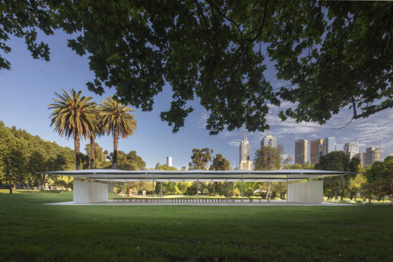 MPavilion 2019 in Melbourne geopend
