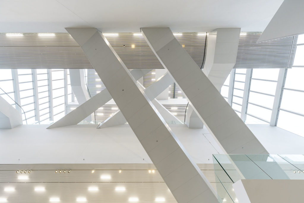 Forum Groningen door NL Architects. Beeld NL Architects en ABT © Marcel van der Burg
