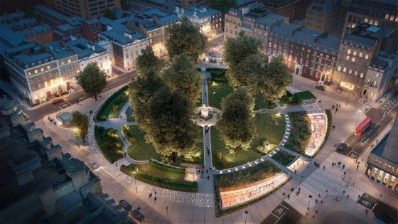 Parkeergarage Cavendish Square Londen krijgt mogelijk nieuwe bestemming