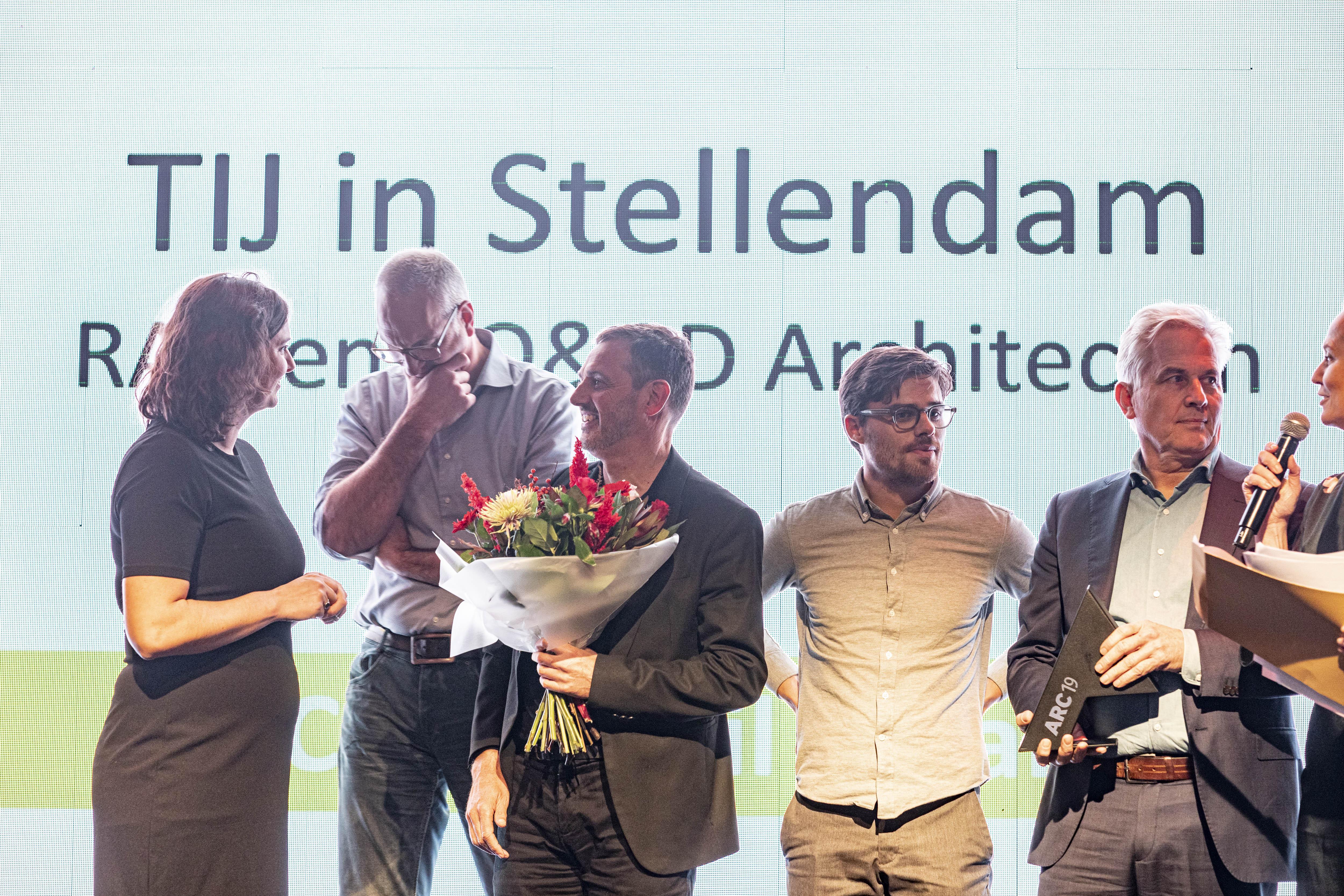 <p>Thomas Rau en RO&#038;AD, winnaars van de ARC19 Detail Award. Beeld J.W. Kaldenbach</p>