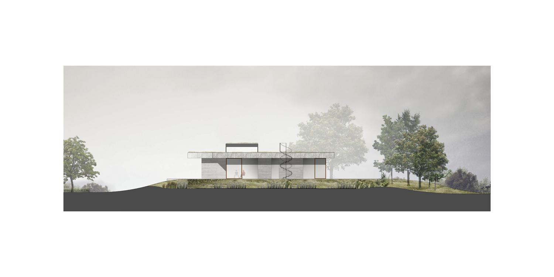 <p>Noordgevel House H in Mount Brydges (Canada) door Chris Collaris Architects</p>