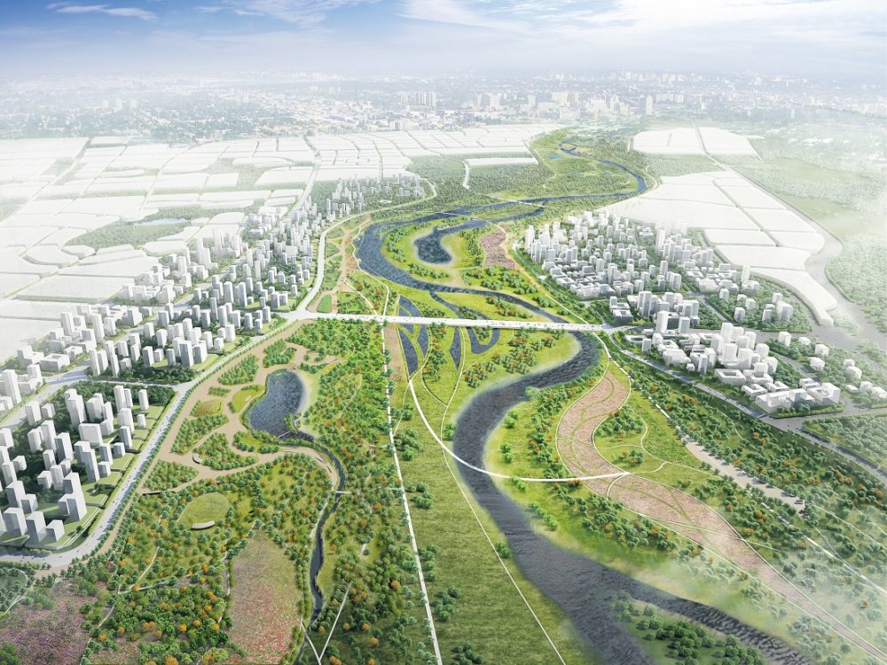 NL Urban Solutions wint competitie Jinghe Rivier in China