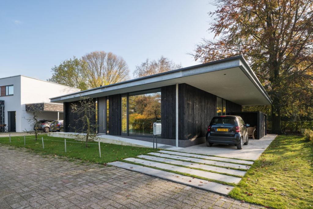 Woonhuis De Twee Beuken door Erik Wamelink. Beeld Jan de Vries