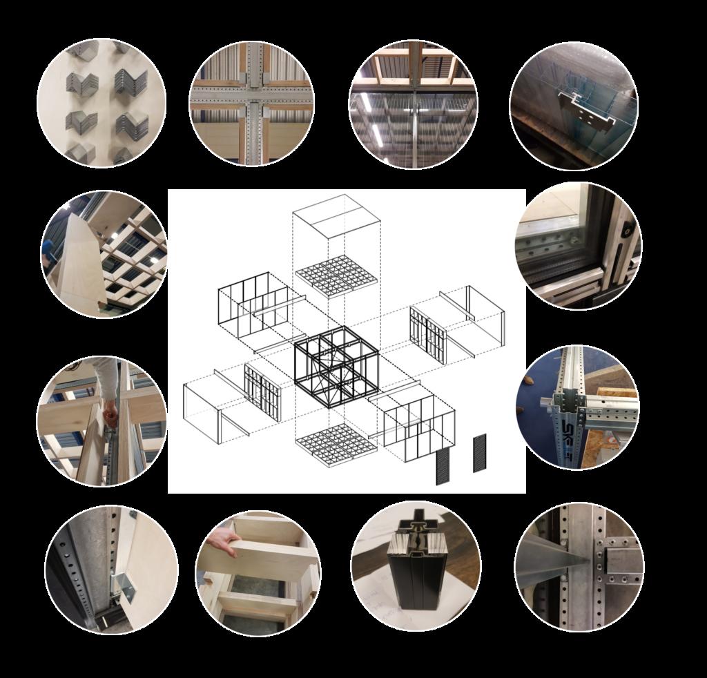 IBA Parkstad - Dankzij omkeerbare verbindingen kunnen materialen en elementen worden weggenomen en vervangen zonder deze te beschadigen