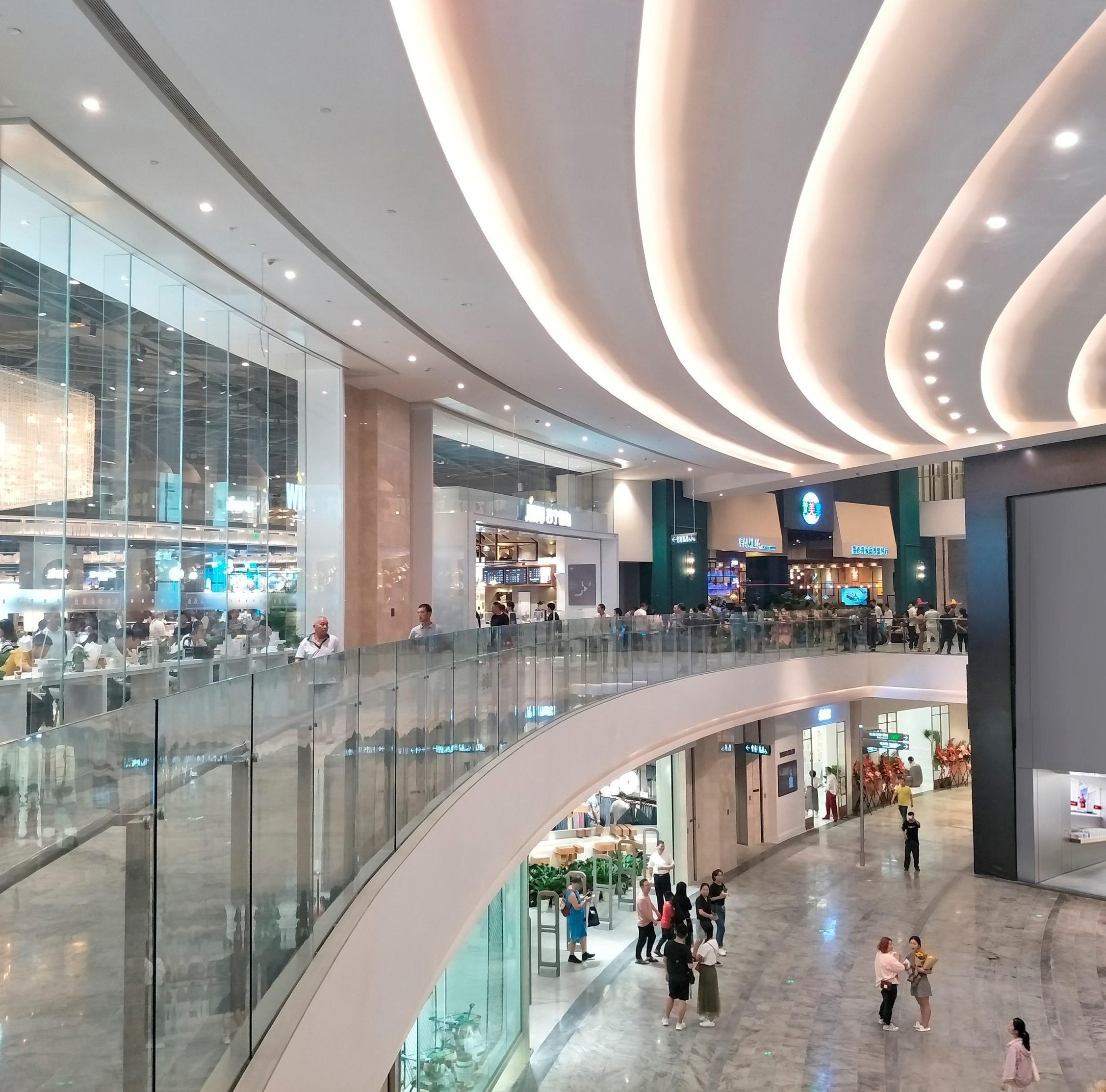 <p>Shoppingmall in Raffles City Beeld Buchan Group</p>