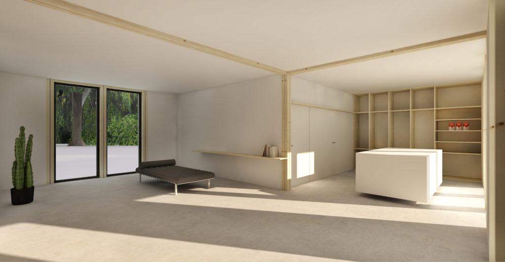 IBA Parkstad Interieur van het Resource House, ontwerp Erol Öztan